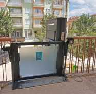Açık Engelli Platformu Engelli Asansörü