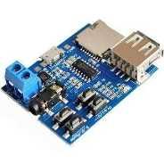 TF Kart ve USB Flash Disk Girişli Oynatıcı Modül (MP3 Formatı)