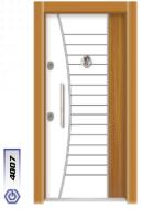 Gebze Çelik Kapı Çift Renk Laminoks4007