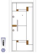 Gebze Çelik Kapı Çift Renk Laminoks4001