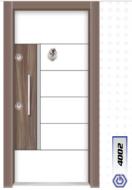 Gebze Çelik Kapı Çift Renk Laminoks4002