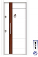 Gebze Çelik Kapı Çift Renk Laminoks4006