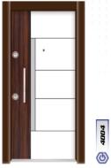 Gebze Çelik Kapı Çift Renk Laminoks4004