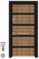 Gebze Çelik Kapı Çift Renk Laminoks3011