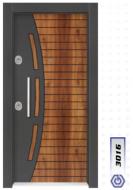 Gebze Çelik Kapı Çift Renk Laminoks3016