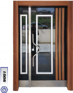 Gebze Çelik Kapı Bina Giriş Kapısı9001