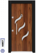 Gebze Çelik Kapı Kromlu Laminoks5007