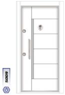 Gebze Çelik Kapı Kromlu Laminoks5009